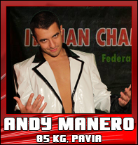 Andy Manero lottatore di wrestling