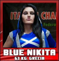 Blue Nikita wrestler femminile