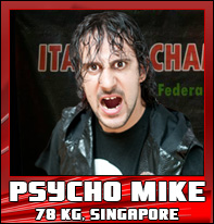 Psycho mike wrestling