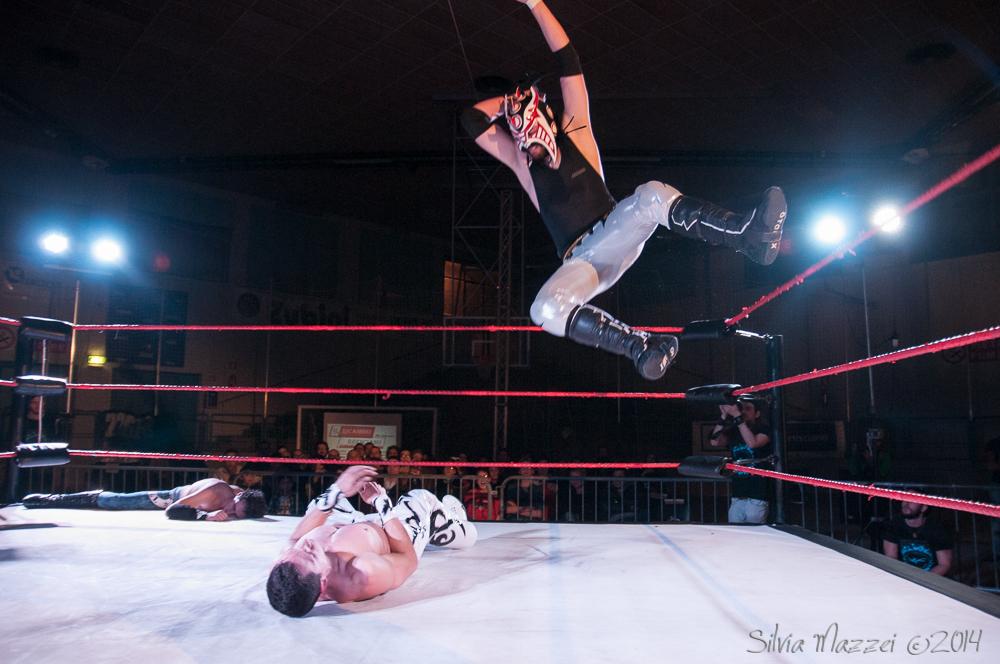 Il Wrestler Mascherato, Hydra, è uno degli esponenti dell'Academy che maggiormente si è fatto notare nel 2015 e che ha iniziato il 2016 con il botto