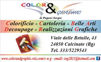 Color & Graphic Calcinate logo