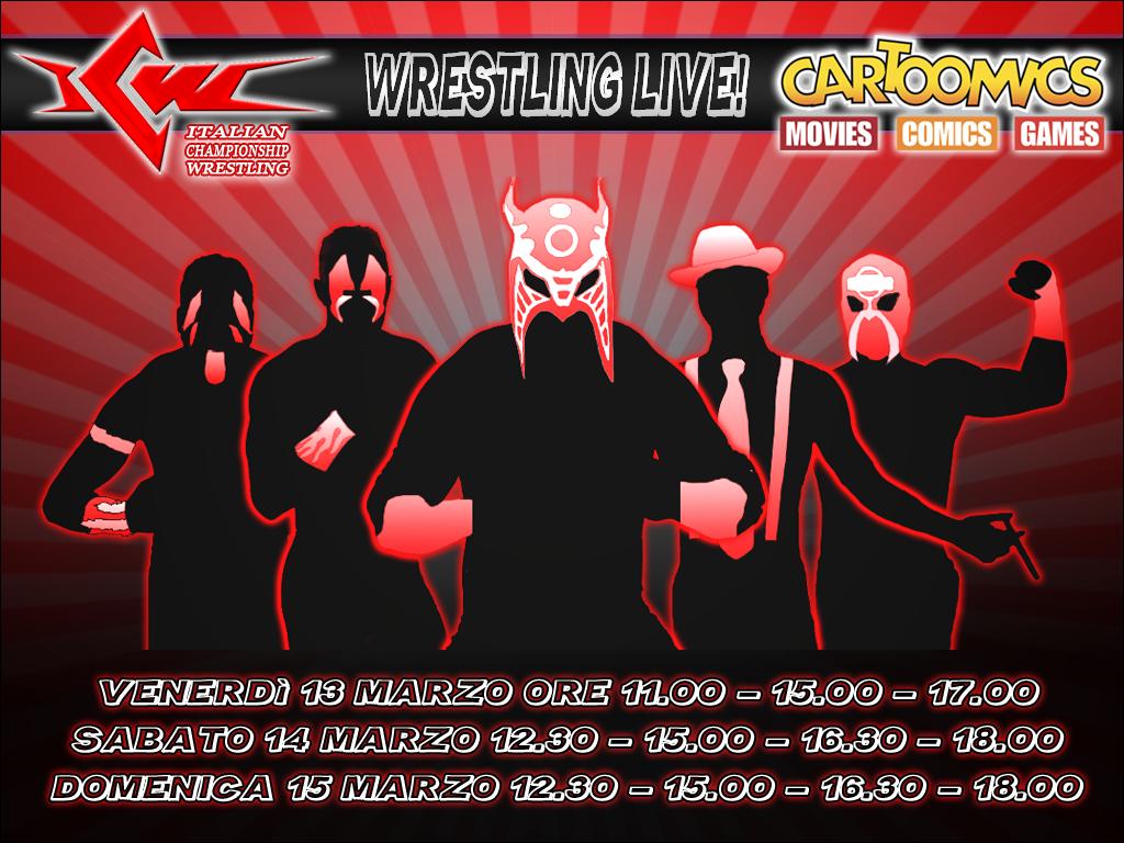 ICW Wrestling Live a Cartoomics 2015
