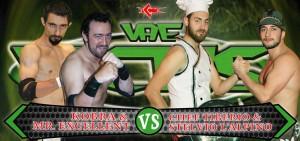 Kobra & Mr. Excellent vs Chef Tiberio & Stelvio