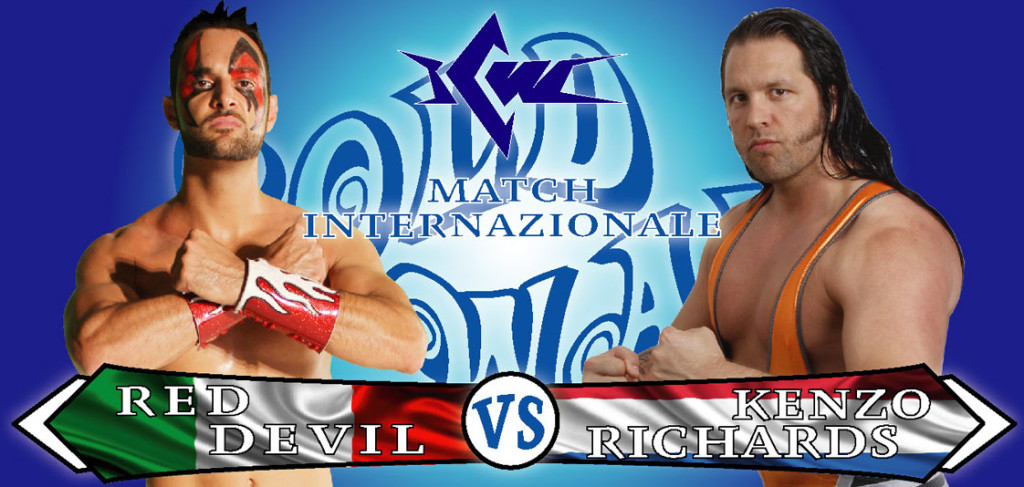 RED DEVIL vs KENZO RICHARDS