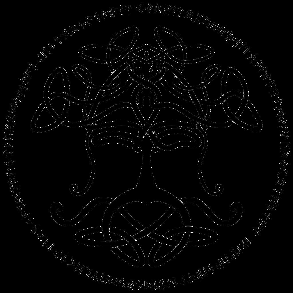 Valhalla-logo-nero-rune-trasparente