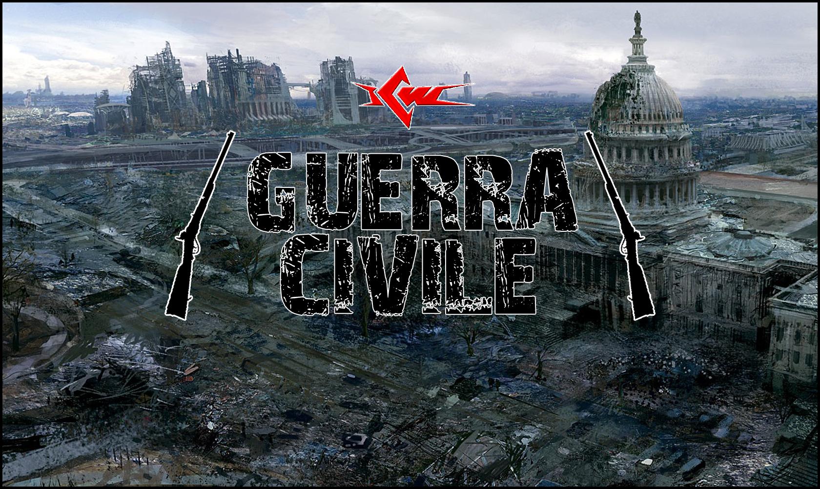 logo Guerra Civile 2013 - scritta nera