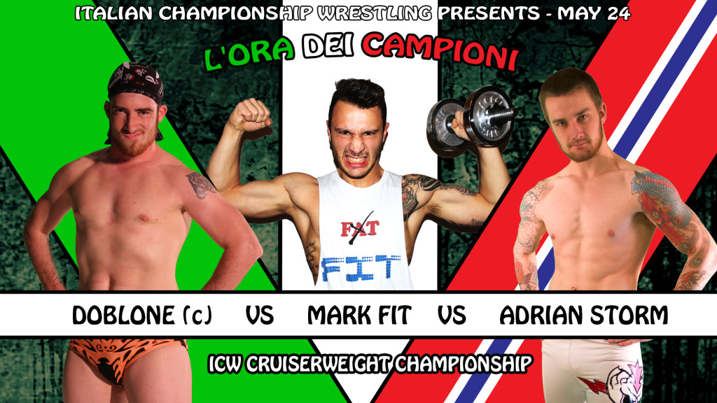 Doblone vs Mark Fit vs Adrian Storm