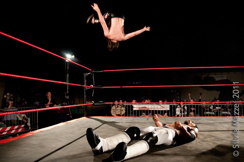 La tecnica e l'agilità di Majoli lo hanno reso uno dei Wrestler più celebri in tutta la ICW