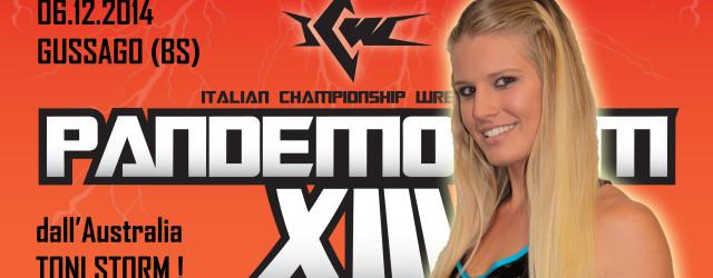 ICW Pandemonium XIII, il Grande Evento più atteso dell'anno, è diventato ancora più imperdibile: direttamente dall'Australia, sbarca in Italia la splendida Toni Storm, una delle lottatrici più vincenti del suo […]