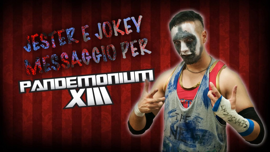 Jester e Jokey banner promo Pandemonium XIII
