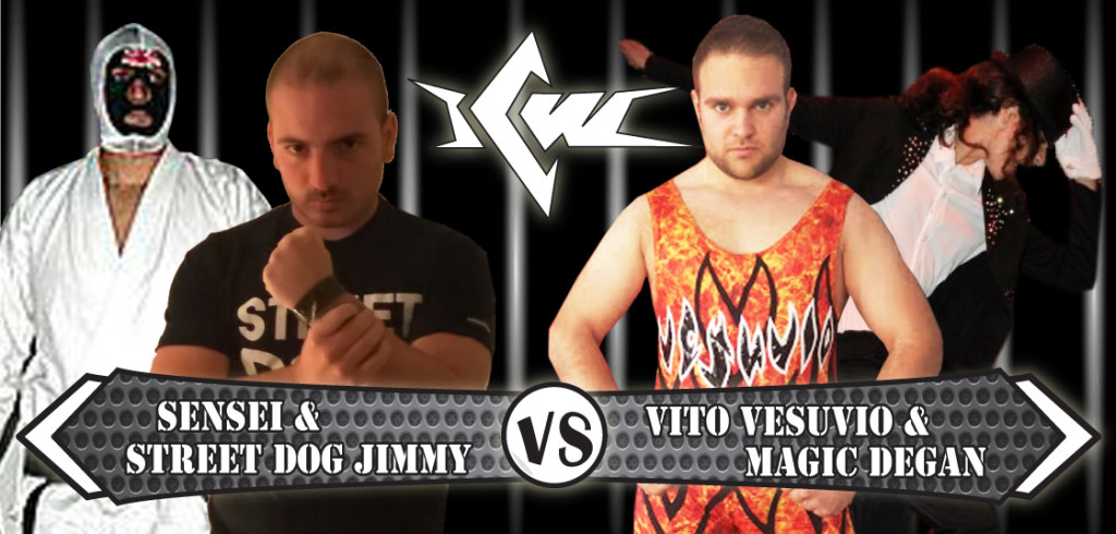 SENSEI E JIMMY vs VESUVIO E DEGAN