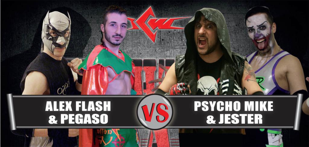 FLASH & PEGASO vs MIKE & JESTER