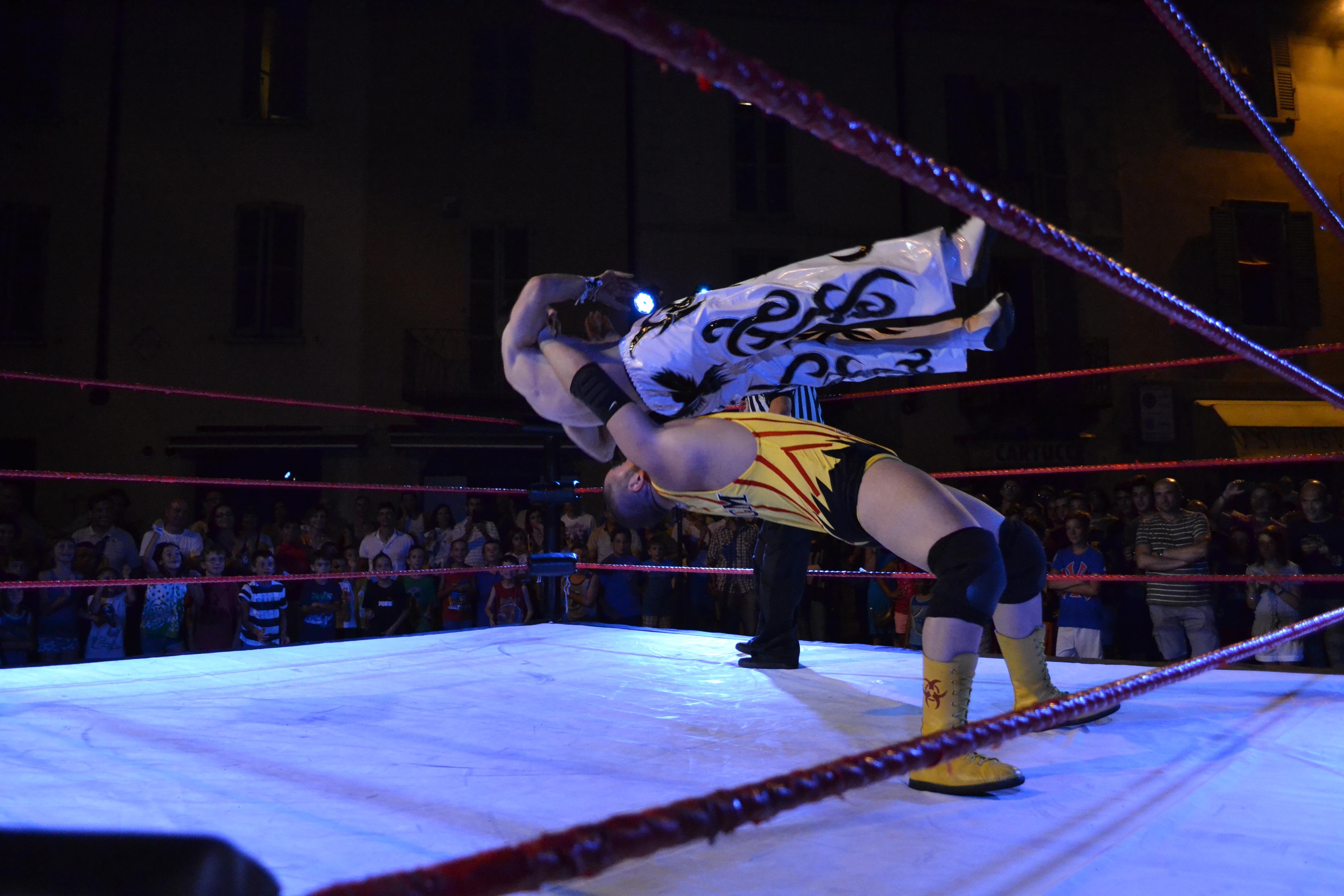 La potenza e l'inaspettata agilità erano due armi devastanti per il 2x Campione Italiano di Wrestling OGM