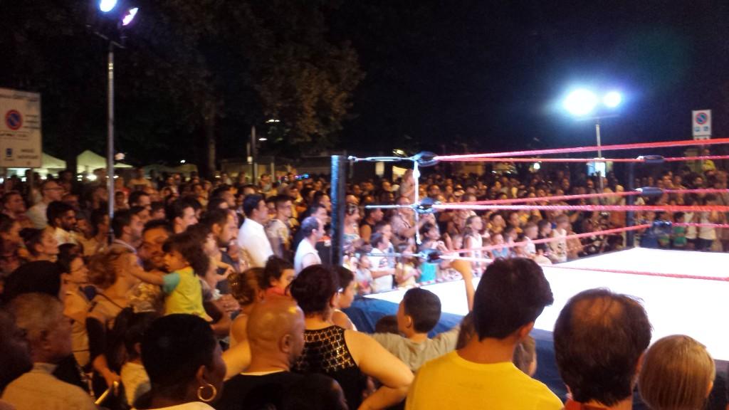 wrestling alla Notte Bianca di Lodi - 3