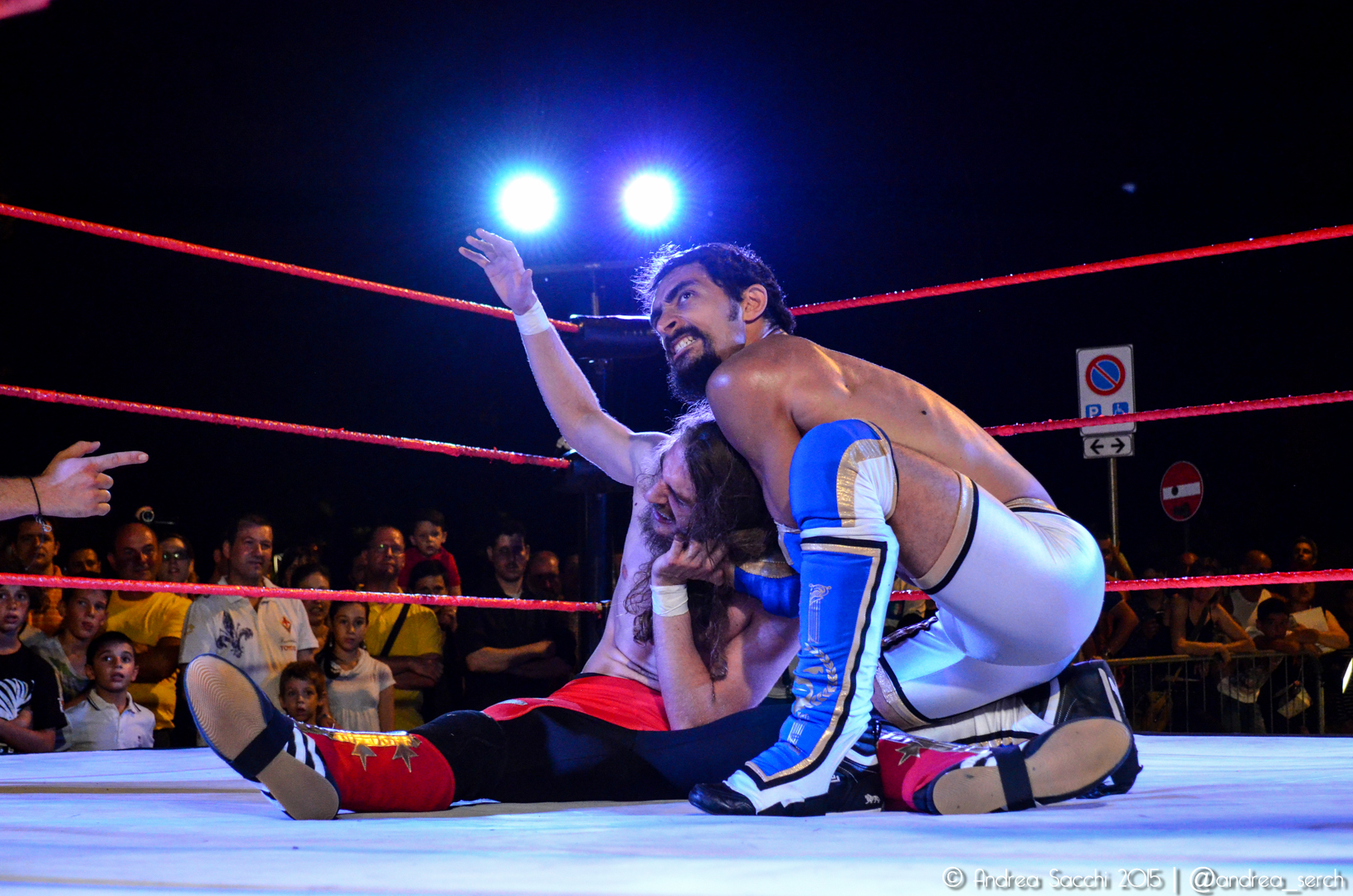 """""""Il Purista"""" Mr Excellent è noto per essere uno dei Wrestler più tecnici in ICW, con un arsenale pieno di sottomissioni"""
