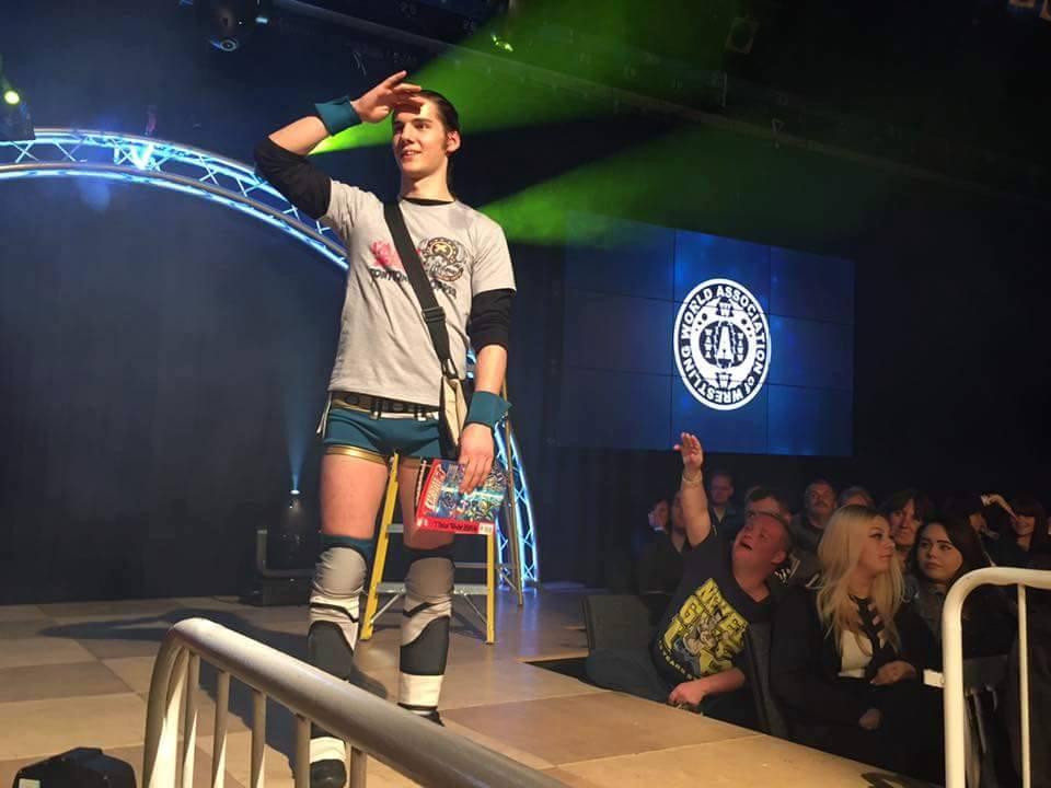 La giovane promessa del Wrestling Italiano si troverà dinanzi forse la sua più grande sfida affrontata fino ad ora questo weekend. Riuscirà a superarla?