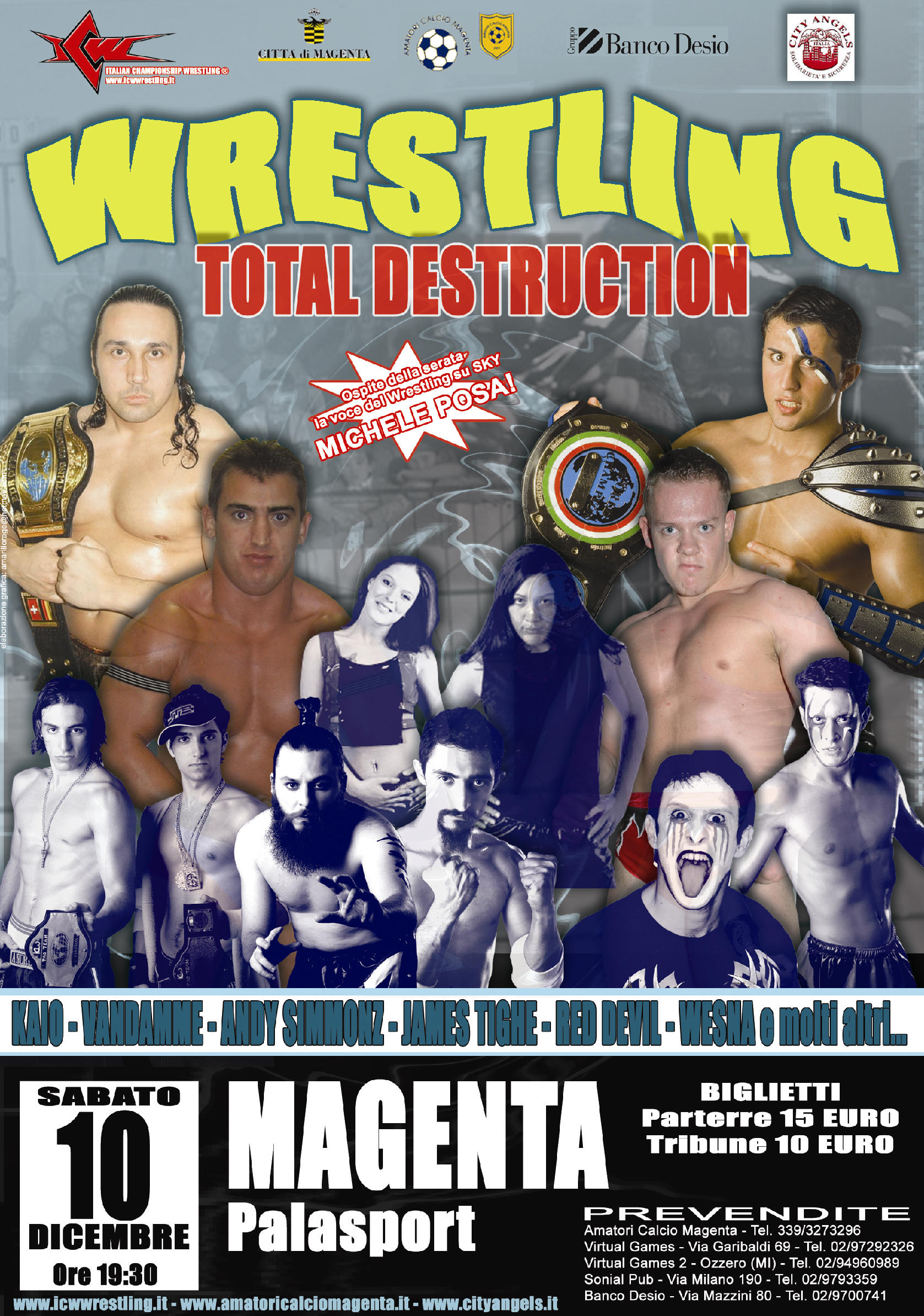 ICW Total Destruction 2005