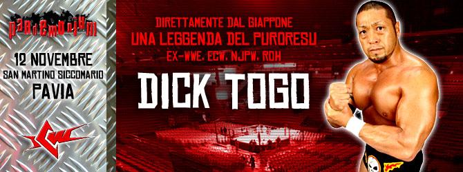 Pandemonium da Leggenda!!! Arriva il mito Dick Togo!! E sfida Devil per il Titolo!!!