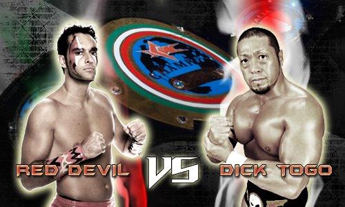 """""""I match che hanno fatto la Storia ICW"""": Red Devil vs Dick Togo!!!!!!!!!!!"""