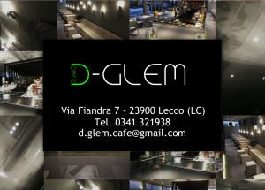 D-Glem Cafè logo