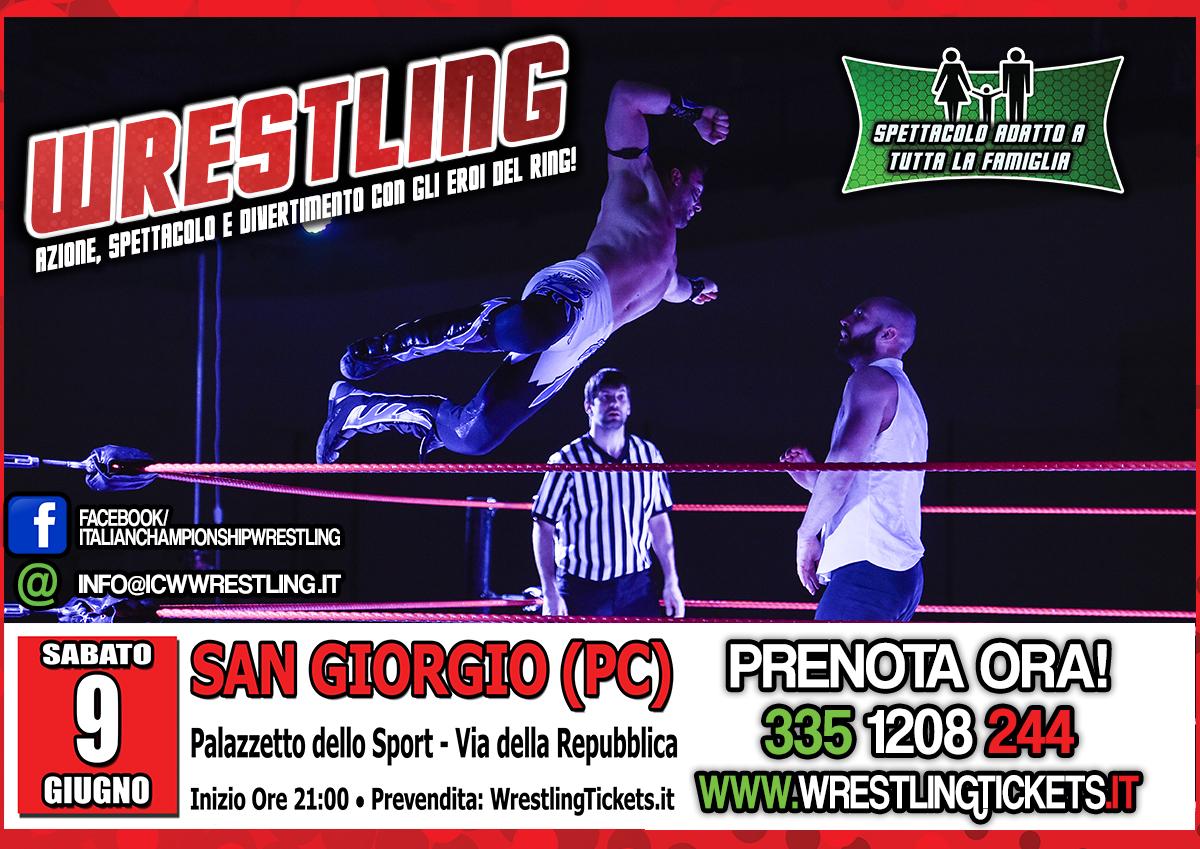 I Campioni del Wrestling tornano a Piacenza! Il programma completo di ICW Colpo Finale 2018