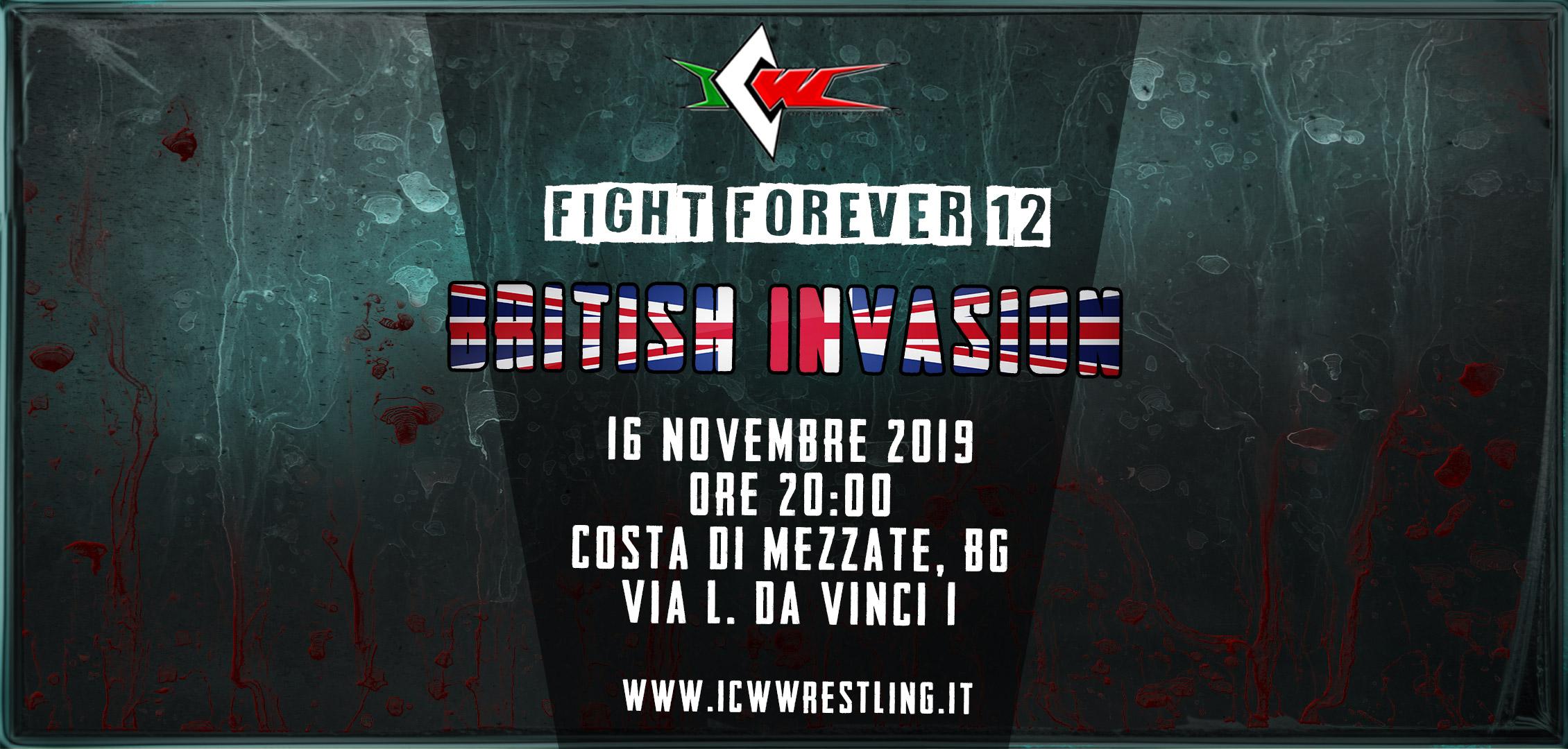 Grandi ritorni, sorprese, tradimenti: è successo di tutto a ICW Fight Forever #12: British Invasion!