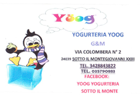 Yogurteria Yoog logo