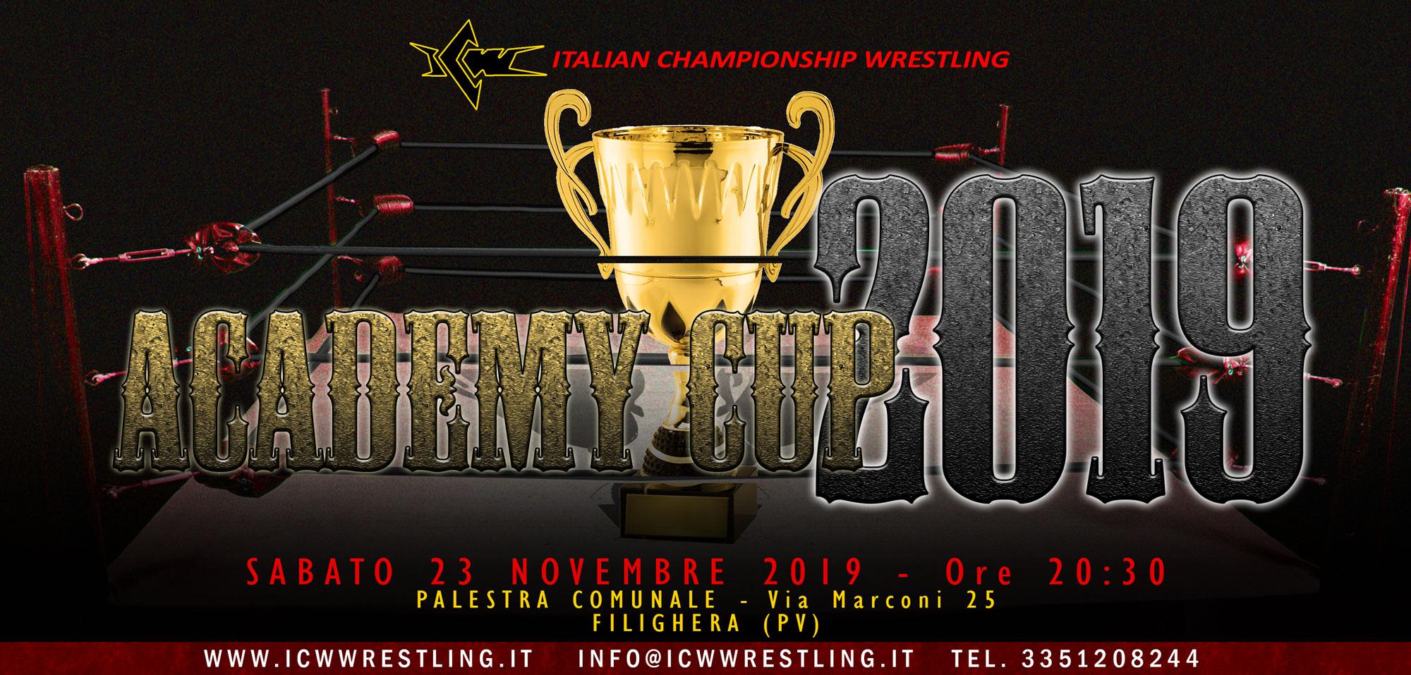 La ICW presenta la decima edizione della Academy Cup sabato a Pavia! Scopri i Team partecipanti