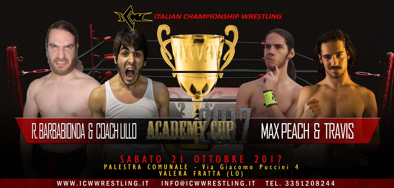 ICW Academy Cup 2017: Seconda Semifinale annunciata!