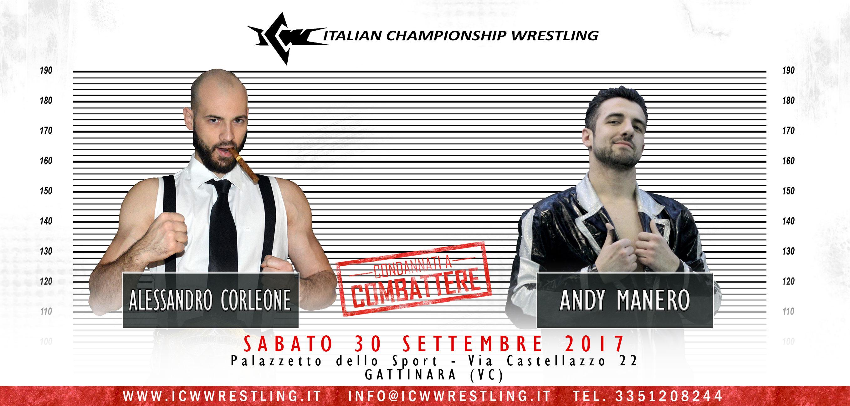 [VIDEO] Corleone e Manero Condannati a Combattere sabato 30 settembre a Gattinara!