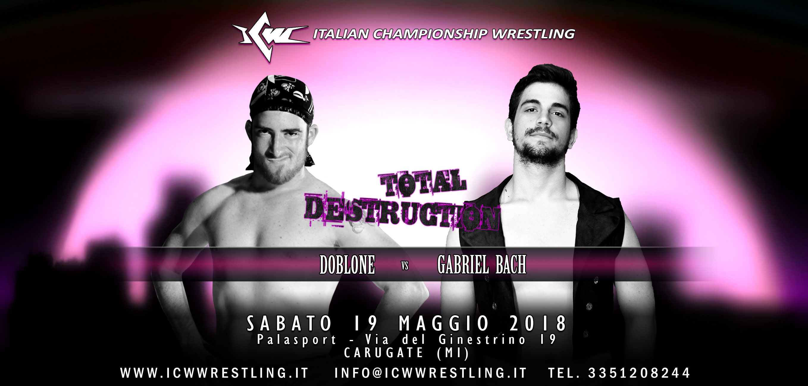 Ultimo match per Total Destruction: Gabriel Bach vs Doblone