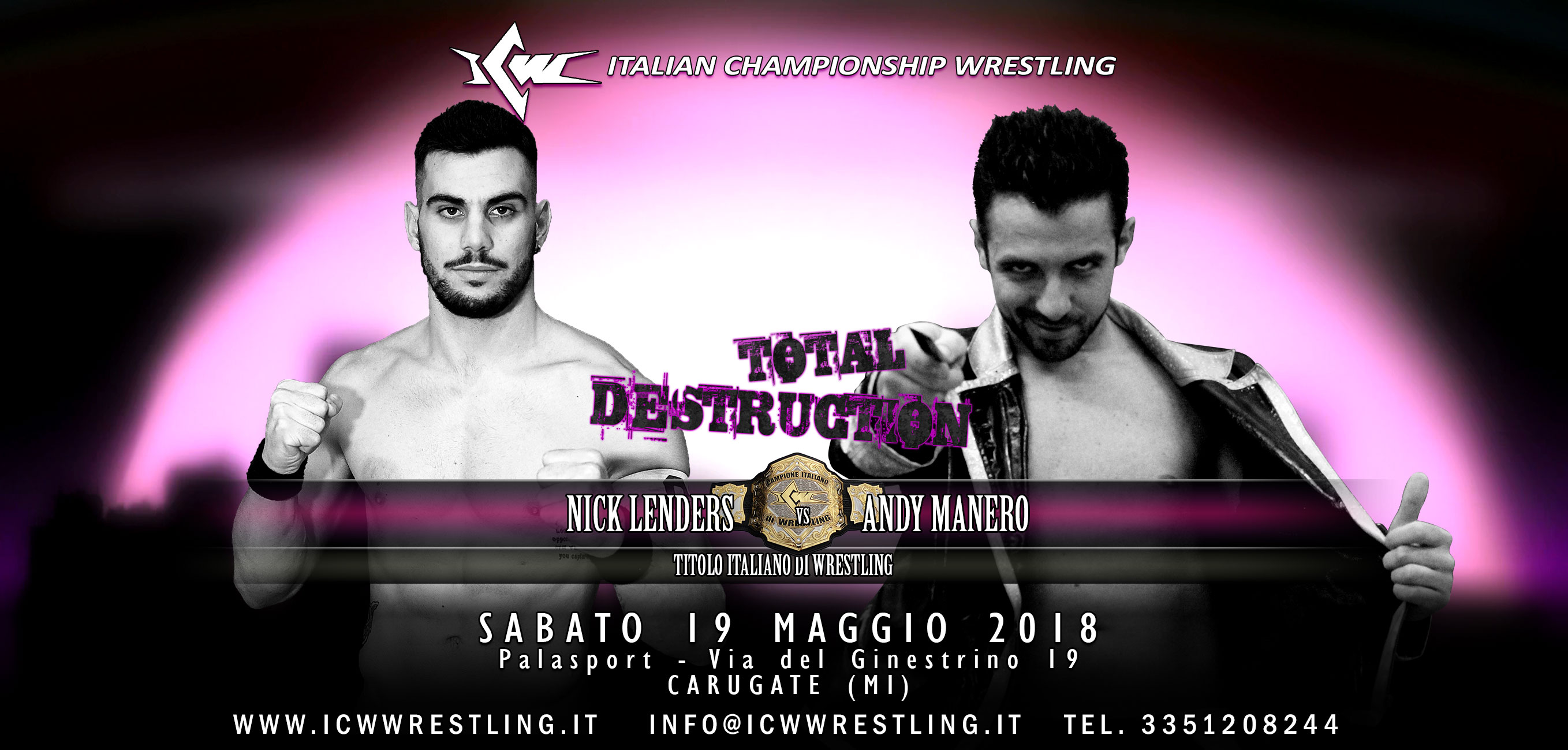 Andy Manero alla ribalta: rematch titolato a Total Destruction
