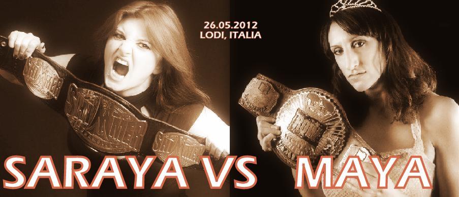 SARAYA vs MAYA: Per l'Europa! Per il Mondo!