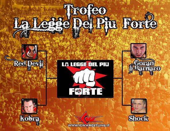 Torna il Trofeo La Legge del Più Forte!!!
