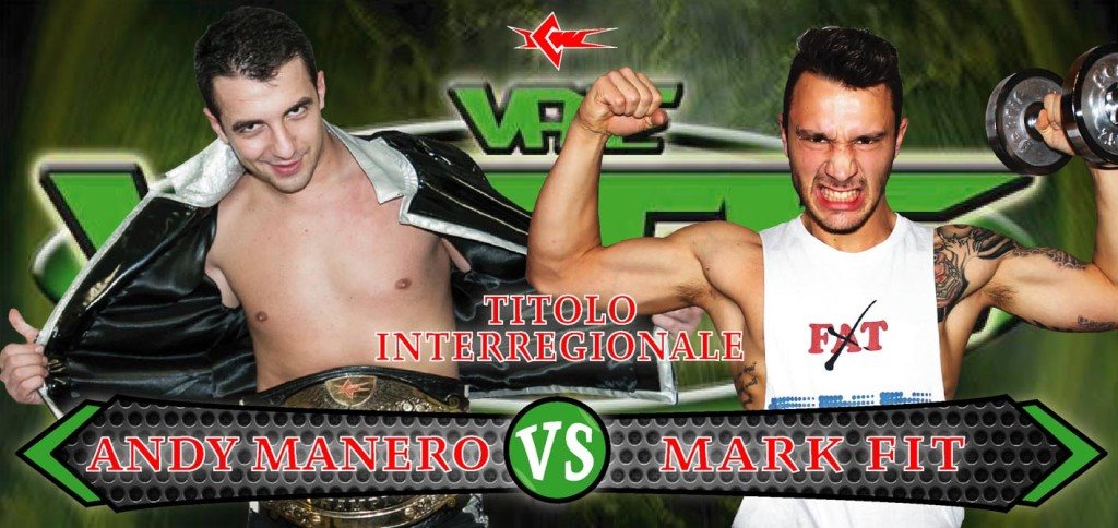 Andy Manero vs Mark Fit