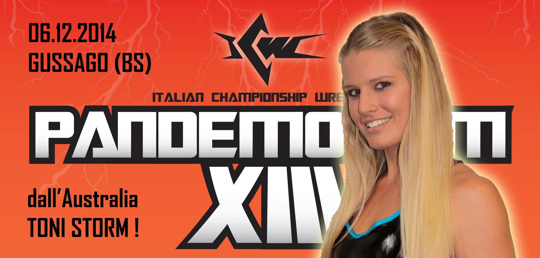 Direttamente dall'Australia, debutta a Pandemonium Toni Storm!
