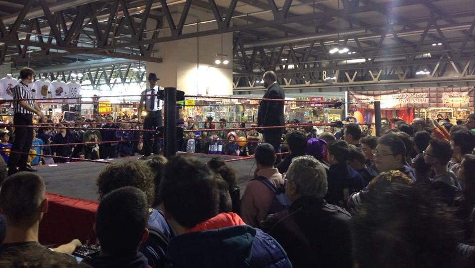 Il Grande Wrestling ICW torna a Cartoomics!