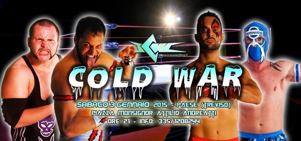 La ICW sabato a Treviso per Cold War 2015: la Card Completa!