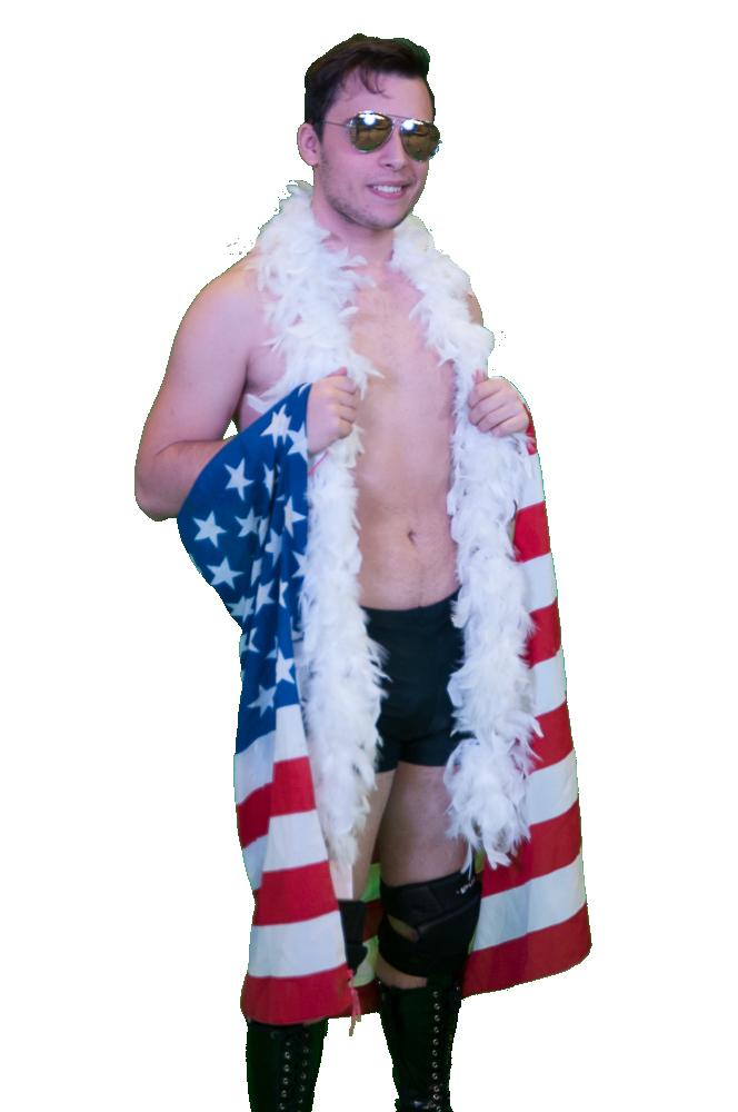Simon Silas Bandiera Americana