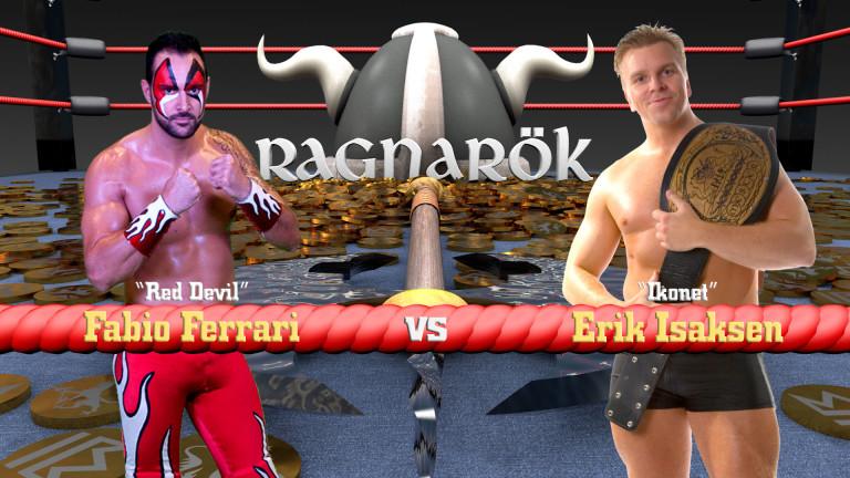 Red Devil vs Erik Isaksen