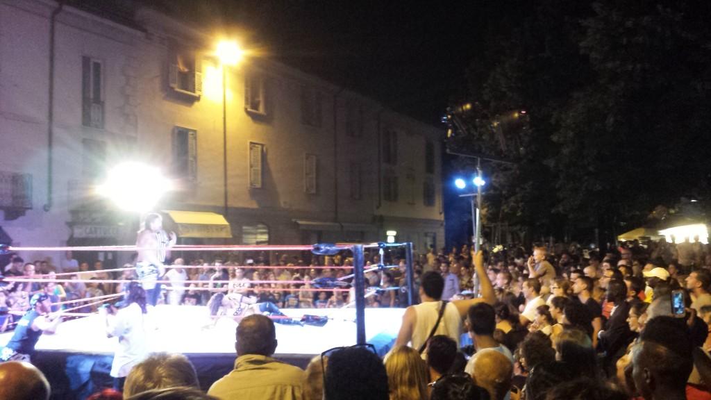 wrestling alla Notte Bianca di Lodi - 2