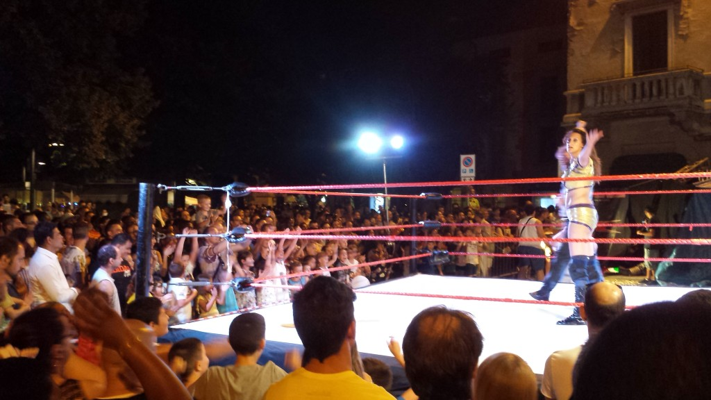 wrestling alla Notte Bianca di Lodi - 4