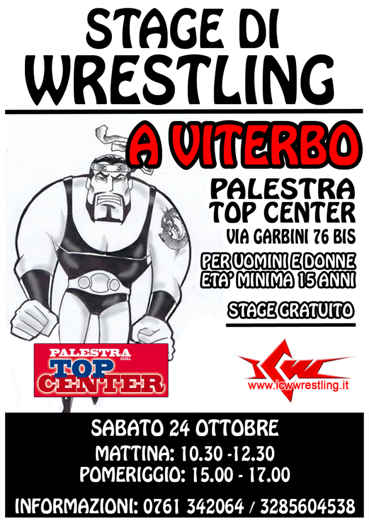 locandina stage Viterbo 24.10.2015