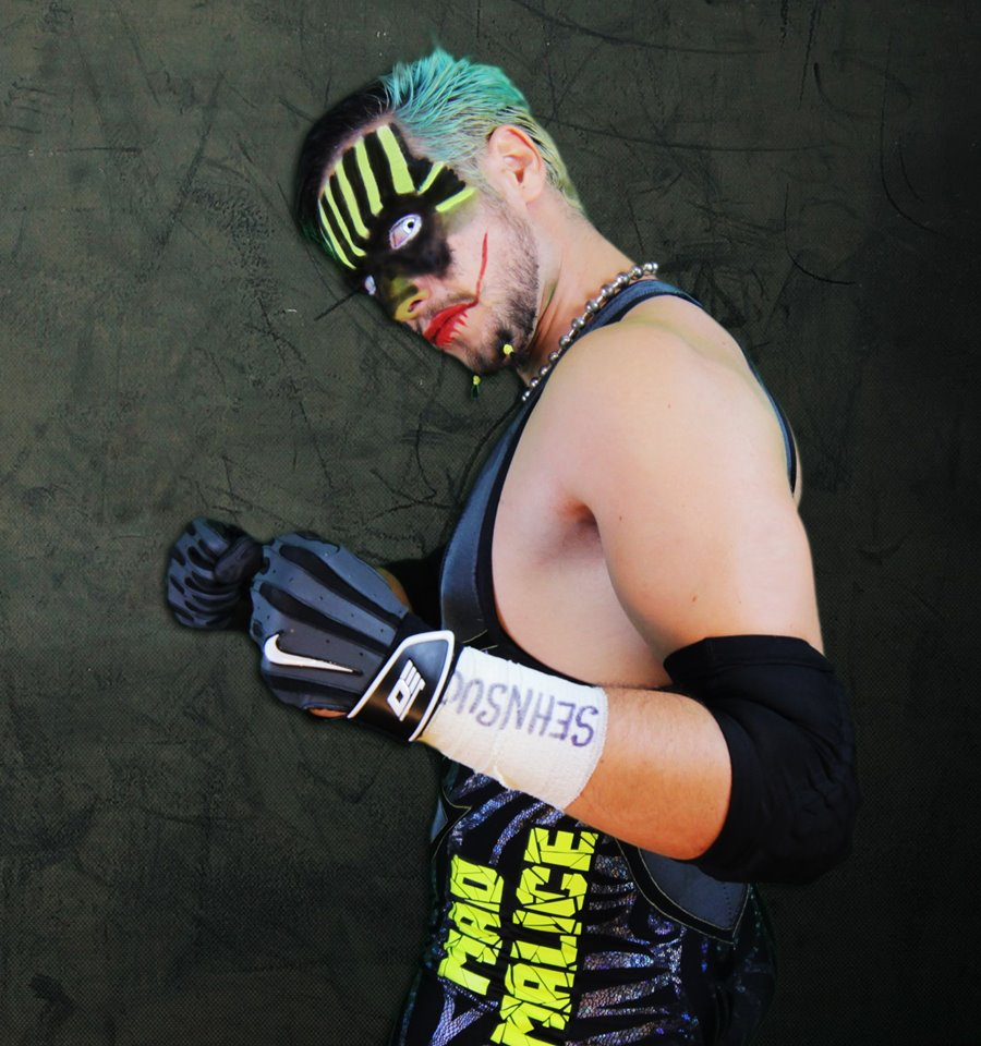 Jester è un ex Campione Italiano di Coppia ICW