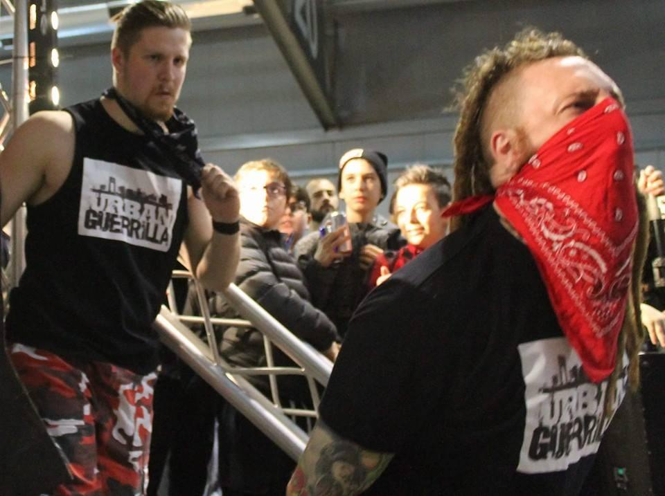 Gli Urban Guerrilla Riot & Tony Callaghan
