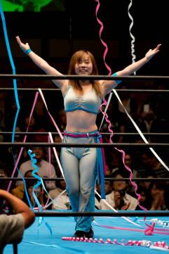 Nonostante sia una delle wrestler più basse al mondo sarà una temibile avversaria per Makoto