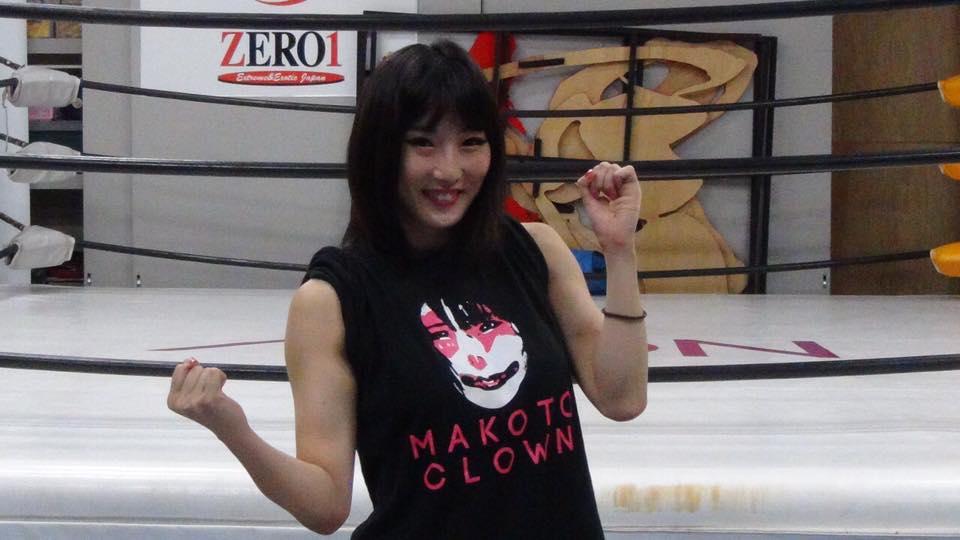 Makoto, nonostante la sua giovane età, è una veterana del ring di 10 anni