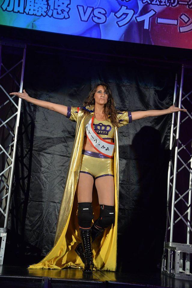 La Regina del Ring, Queen Maya, ha ulteriormente portato in alto il tricolore italiano divenendo la prima atleta della ICW a partecipare ad un tryout WWE