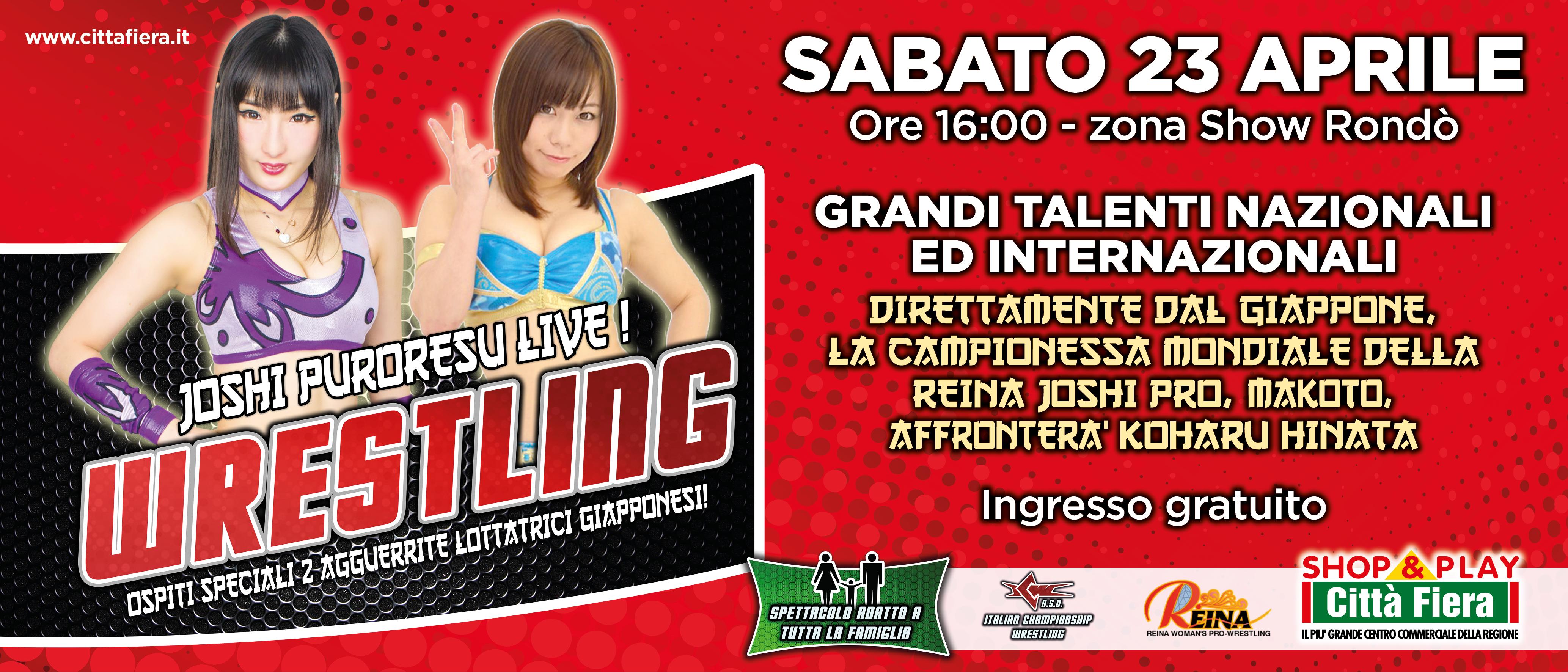 Joshi Puroresu Live: lottatrici giapponesi in azione a Udine con la ICW!