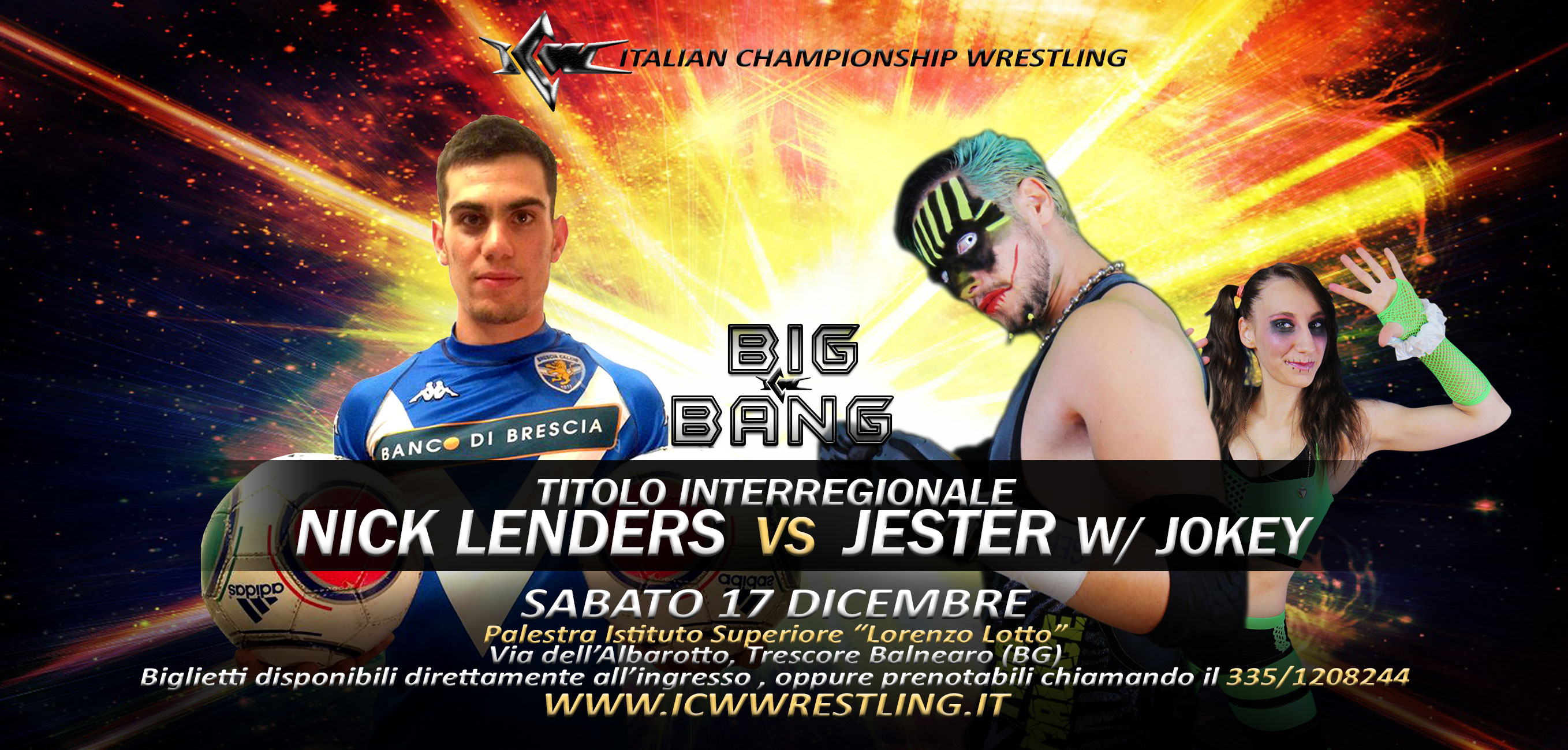 [VIDEO] Italia – Scozia: La Partita del Dolore a ICW Big Bang